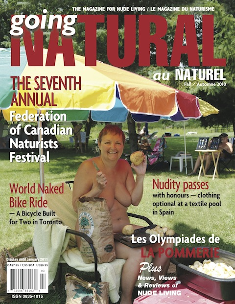 Au Naturel - Fall 2010 – Volume 25, Issue 3