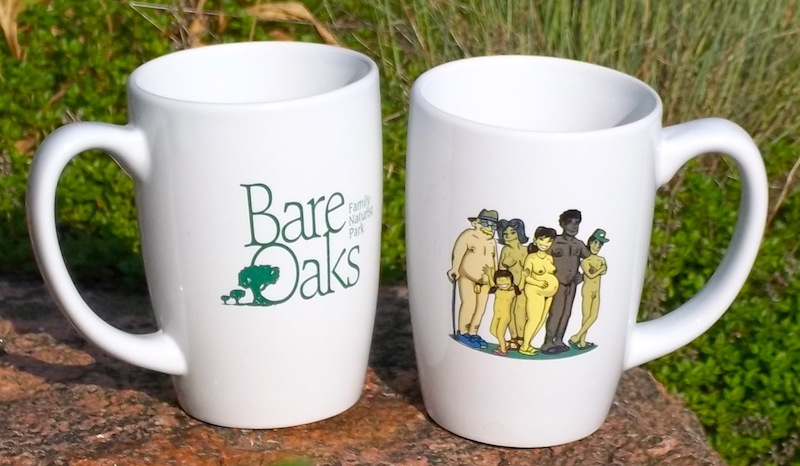 Bare Oaks Mug - Click Image to Close