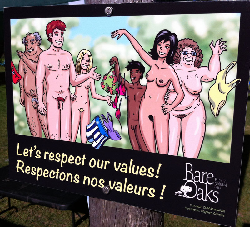 Sign - Let's respect our values